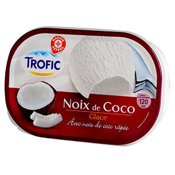 creme glacee trofic noix de coco 1l tous les produits glaces prixing. Black Bedroom Furniture Sets. Home Design Ideas