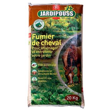 fumier cheval jardipouss 20kg tous les produits jardin prixing. Black Bedroom Furniture Sets. Home Design Ideas