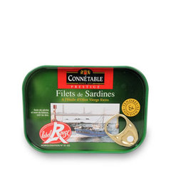Connetable Filets de sardines a l'huile d'olive 100g
