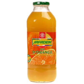 Jus d'orange Jafaden Concentre 1l