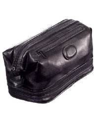 Danielle Milano Men's Large Framed Top Zip Toiletry Bag