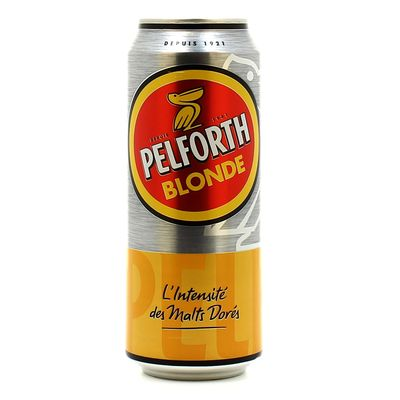Biere blonde PELFORTH, 5,8°, 50cl