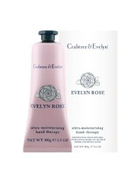 Crabtree & Evelyn Crème Mains Hydratante Evelyn Rose 100 g