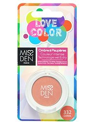 MISS DEN Love Color Ombre à Paupière Corail 3 g
