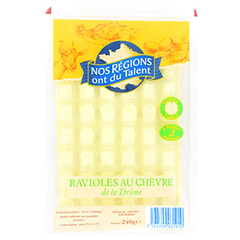 Ravioles chevre de drome Nos Regions ont du Talent 240g