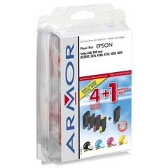 PACK 5 CARTOUCHES COMPATIBLES EPSON T0615