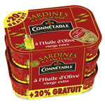 Sardines Connétable 414g Piment d'Espelette 3