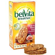 Belvita Fruit & Fibre Biscuits 6 x 50g