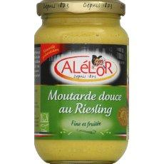 Moutarde douce au riesling ALELOR,350g