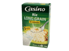 Riz long grain etuve (10 minutes)