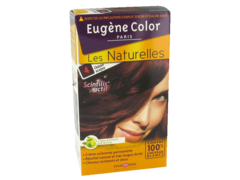 Coloration creme permanente EUGENE COLOR, Virginia, chatain acajou n°4