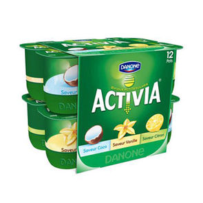 Activia fruits mixes panaches 12x125g