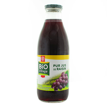 Jus Bio Village Raisin pur 1l