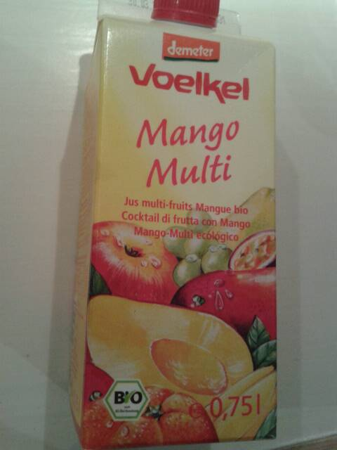 Voelkel Jus de Mangue Multi Fruits Bio 750 ml