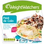 Weight Watchers pavé de colin aux légumes cuisinés 300g