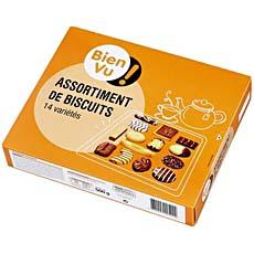 Assortiment de biscuits Bien Vu, 500g