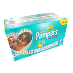 Couches Baby Dry mega PAMPERS, taille 5, 11 a 25kg , 96 unites