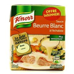 Knorr sauce beurre blanc 300ml