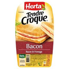 Herta tendre croque bacon 200g