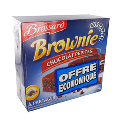 Brownies au Chocolat pepites Lot de 2!