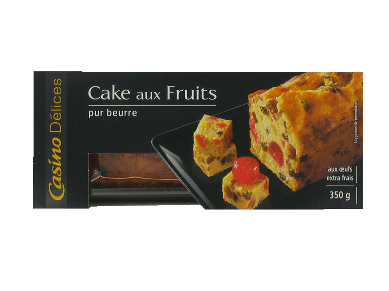 Cake aux fruits 350g