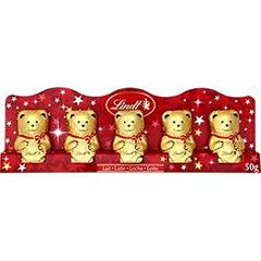 Lindt mini ours 5x10g
