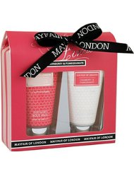 Mayfair Of London Duo Temptation Canneberge/Grenade Coffret de Bain 2 Pièces