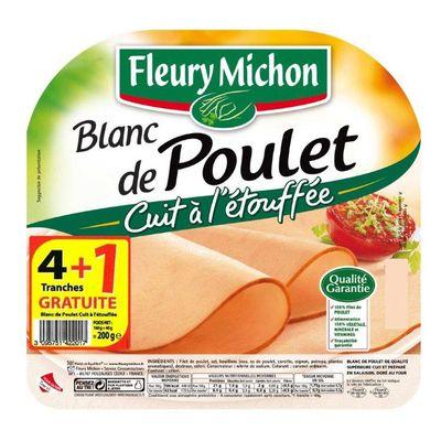 blanc de poulet cuit a l 39 etouffe 4 tranches tous les produits saucissons saucisses r tis. Black Bedroom Furniture Sets. Home Design Ideas