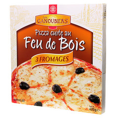 PIZZA 3 FROMAGES F.DE BOIS 420g