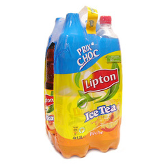 Lipton Ice tea peche 4x1,5l