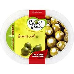 Olives farcies ail, fort - Les Aperi Gourmandes