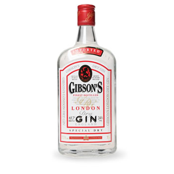 Gibson's gin 37,5° -70cl