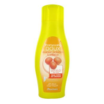 auchan shampooing doux aux oeufs familial 500ml tous les produits shampoings prixing. Black Bedroom Furniture Sets. Home Design Ideas