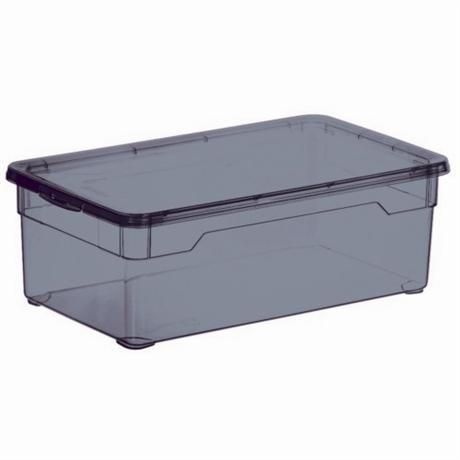 boite de rangement violet 26l tous les produits boites rangements prixing. Black Bedroom Furniture Sets. Home Design Ideas