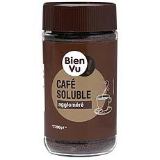 Cafe soluble agglomere BIEN VU, 200g