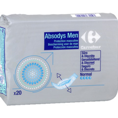 Protection fuites urinaires masculines, normal - Absodys Men