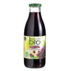 Pur jus de raisin rouge bio