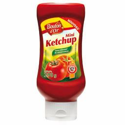 Mini ketchup, le flacon de 290g