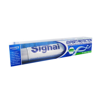 Signal dentifrice tube expert protection fraicheur 75ml
