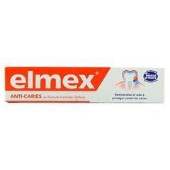 Elmex Dentifrice Anti Caries 75 ml - Lot de 4