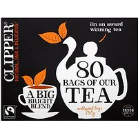 Sacs Clipper Fairtrade Tea (80) - Paquet de 2