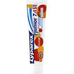 Dentifrice junior 7-13 ans, fluor, menthe douce, Le tube de 75ml