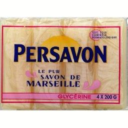 Le pur savon de marseille glycerine les 4 pains de 200g - Savon de marseille sans glycerine ...
