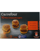 Mini Cheeseburgers micro-ondables