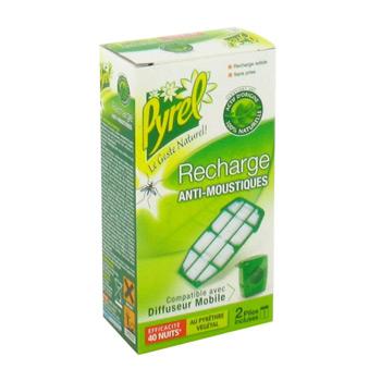 Recharge pour diffuseur anti moustiques mobile pyrel 40 nuits tous les produits insecticides - Produit anti moustique pour jardin ...