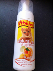 Friskies Shampooing mousse chat 150ml