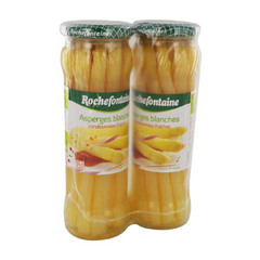 asperges blanches rochefontaine 2x205g