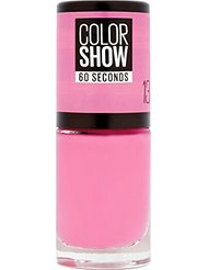 Gemey Maybelline Colorshow - Vernis à ongles -13 NY PRINCESS - Rose intense
