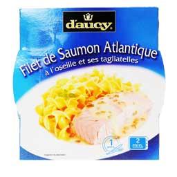 filet de saumon a l 39 oseille et tagliatelles d 39 aucy 300g tous les produits autres poissons. Black Bedroom Furniture Sets. Home Design Ideas