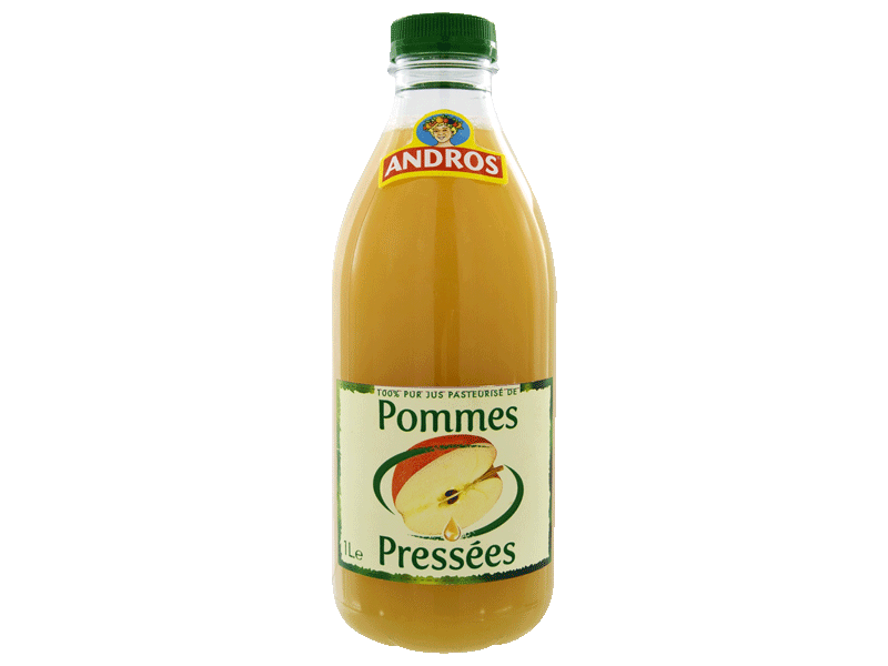 Jus pomme Andros presse 1l